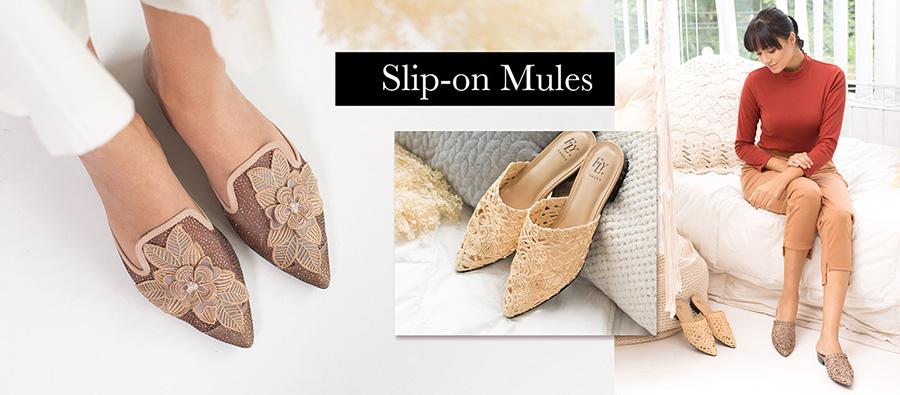 Slip-on Mules